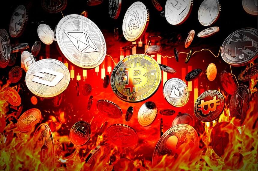 """Giá Bitcoin hôm nay ngày 8/9: Cú """"flash crash"""" thổi bay 300 tỷ USD vốn hoá của thị trường tiền ảo"""