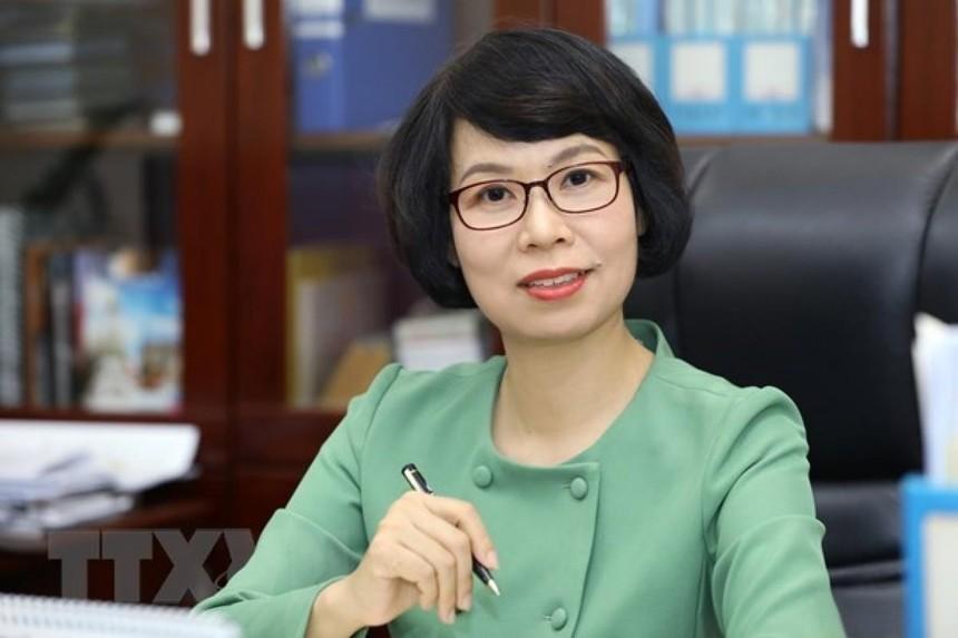 Bà Vũ Việt Trang.