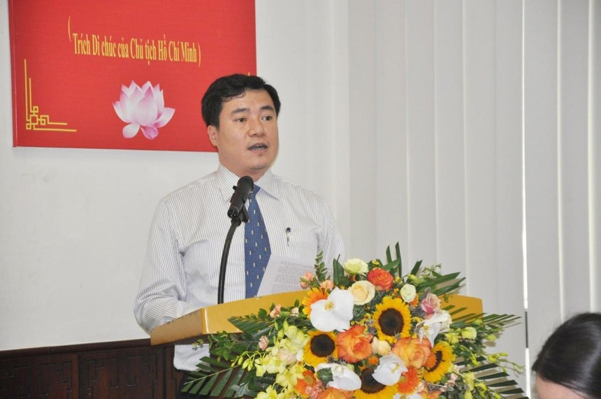 Ông Nguyễn Sinh Nhật Tân được Thủ tướng Chính phủ bổ nhiệm giữ chức Thứ trưởng Bộ Công Thương. Ảnh: baochinhphu.vn.