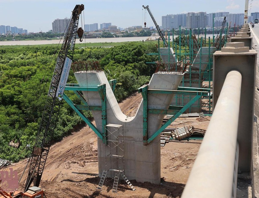 Cầu Vĩnh Tuy giai đoạn 2 sử dụng ngân sách thành phố Hà Nội.