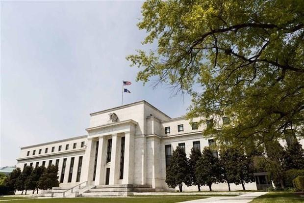 Trụ sở Cục Dự trữ Liên bang Mỹ ở Washington, D.C. (Ảnh: THX/TTXVN).