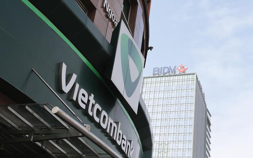 Nhiều cổ phiếu ngân hàng có diễn biến giảm giá trong 3 tháng qua. Ảnh: Dũng Minh.