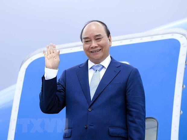Chủ tịch nước Nguyễn Xuân Phúc. (Ảnh: Thống Nhất/TTXVN).