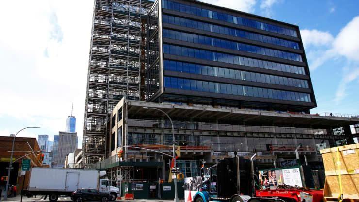 Tòa nhà ăn phòng tại quảng trường Hudson sẽ được Google mua lại.