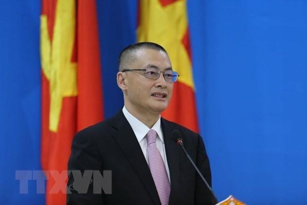 Ông Vũ Quang Minh. (Ảnh: Hùng Vũ/TTXVN).