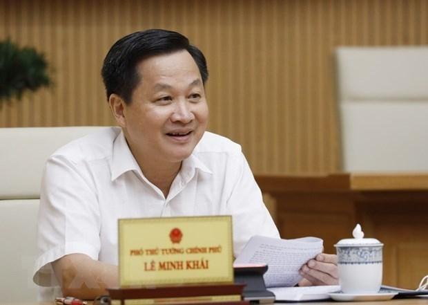 Phó Thủ tướng Lê Minh Khái. (Nguồn: TTXVN).