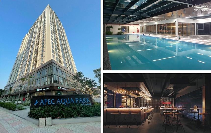 Dự án Apec Aqua Park Bắc Giang hiện đã đi vào hoạt động.