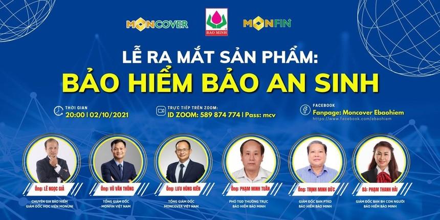 Moncover hợp tác cùng bảo hiểm Bảo Minh ra mắt sản phẩm Bảo an sinh - lá chắn vững vàng an nhiên vui sống