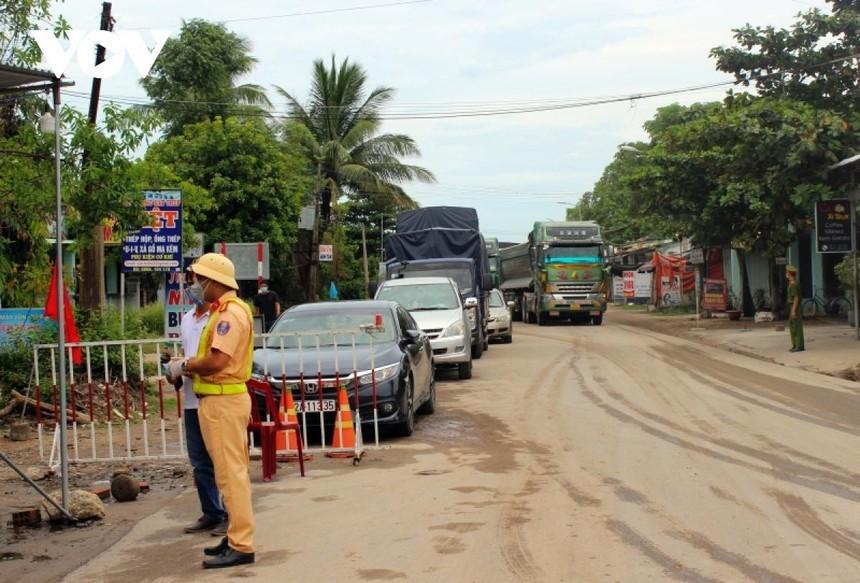 Người từ thành phố Đà Nẵng đến Quảng Nam không cần xác nhận trình trạng vùng dịch.