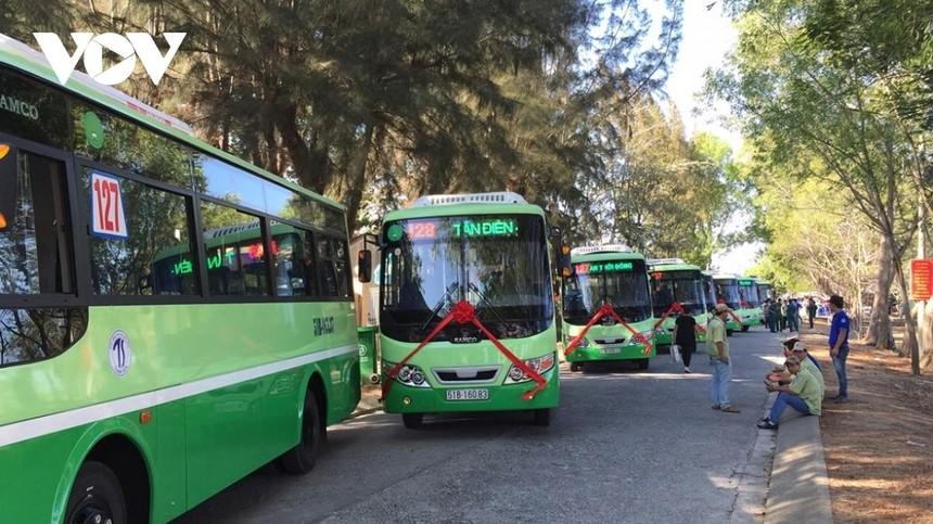 Tuyến xe buýt 128 là một trong 4 tuyến được hoạt động từ ngày 5/10.
