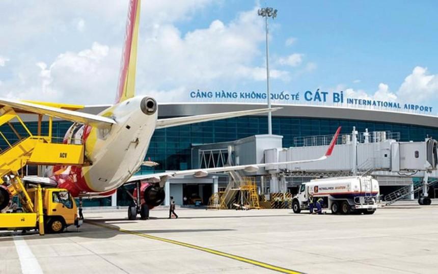 UBND TP. Hải Phòng đề nghị Cục Hàng không Việt Nam tạm thời chưa khai thác các đường bay chở hành khách đi/đến Hải Phòng. Ảnh: KT.