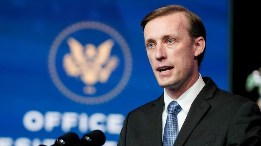 Cố vấn An ninh quốc gia Mỹ Jake Sullivan. (Ảnh: Reuters).