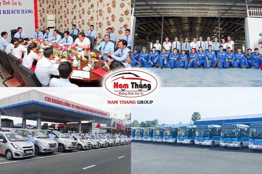 Tập Đoàn Nam Thắng với đội xe hùng hậu 750 chiếc taxi hoạt động trên địa bàn Kiên Giang - Phú Quốc - Đồng Nai.