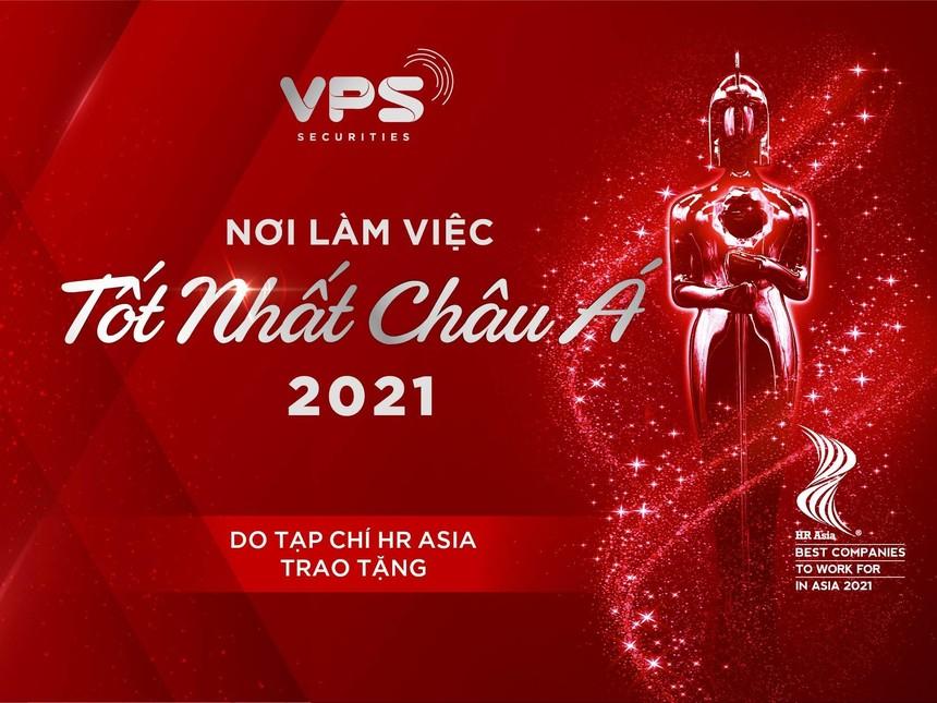 """VPS được vinh danh với giải thưởng """"Nơi làm việc tốt nhất châu Á"""" từ tạp chí uy tín hàng đầu HR Asia."""