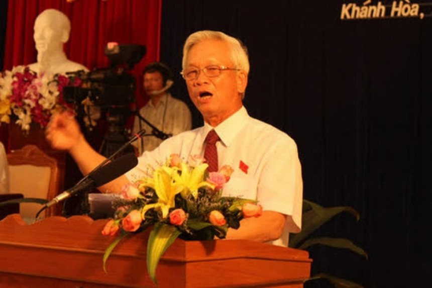 Ông Nguyễn Chiến Thắng, cựu Chủ tịch UBND tỉnh Khánh Hòa.