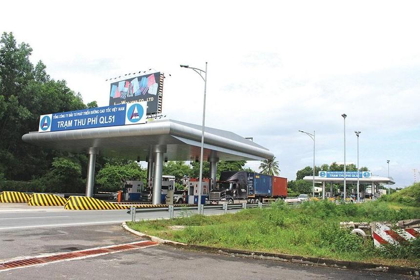 VEC tổ chức thu phí trở lại Trạm thu phí Quốc lộ 51 trên tuyến cao tốc TP.HCM - Long Thành - Dầu Giây từ ngày 5/10.