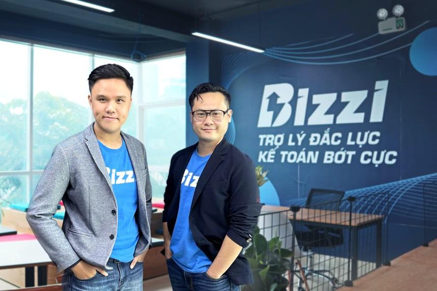 Bizzi có 2 đồng sáng lập là ông Vũ Trọng Nghĩa (bên phải) và ông Nguyễn Bảo Nguyên.