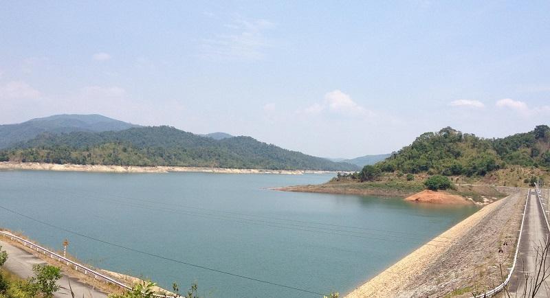 Hồ thủy điện Hàm Thuận - Đa Mi. Ảnh: T.X.