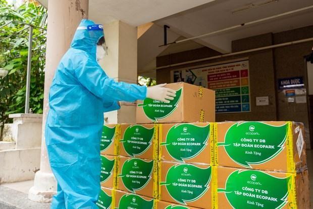 Số thuốc Molnupiravir do Công ty DB - cổ đông sáng lập Tập đoàn Ecopark tài trợ.