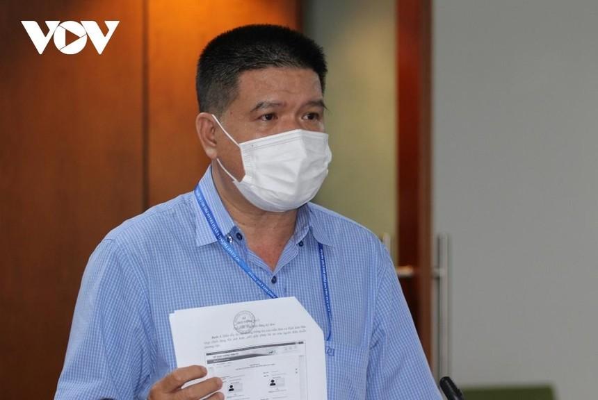 Ông Bùi Hòa An, Phó Giám đốc Sở Giao thông Vận tải TP.HCM.