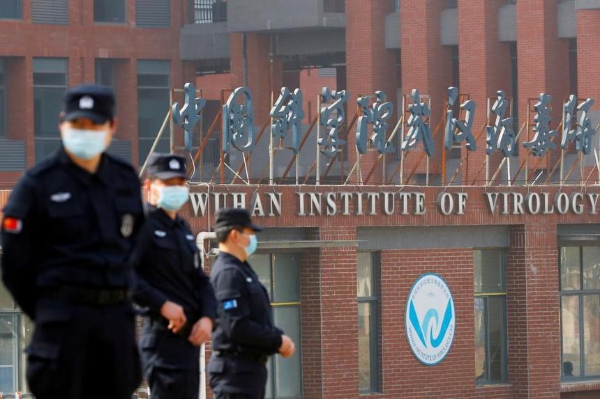 Viện virus học Vũ Hán, Trung Quốc, tháng 2/2021. Ảnh: Reuters.