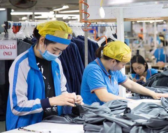 Nhiều doanh nghiệp may mặc đã được tiếp cận gói vay trả lương ngừng việc.