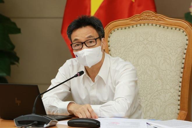 Phó Thủ tướng Vũ Đức Đam làm việc với lãnh đạo Bộ Văn hóa - Thể thao và Du lịch.