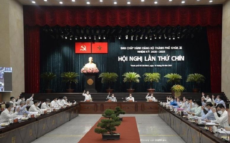 Bí thư Nguyễn Văn Nên đề nghị hội nghị bàn giải pháp, cơ chế để đồng hành cùng doanh nhân, doanh nghiệp vượt qua khó khăn trong giai đoạn phục hồi kinh tế và bình thường mới.