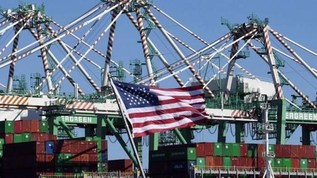 Các container hàng hóa tại cảng Long Beach ở California (Mỹ). (Nguồn: ft.com).