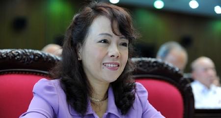 Bộ Y tế Nguyễn Thị Kim Tiến
