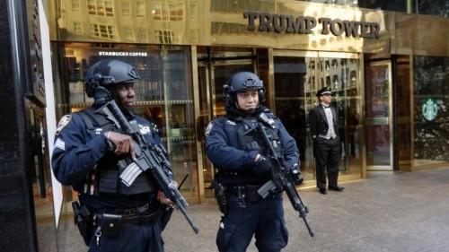 Tháp Trump tại New York. Ảnh: AP