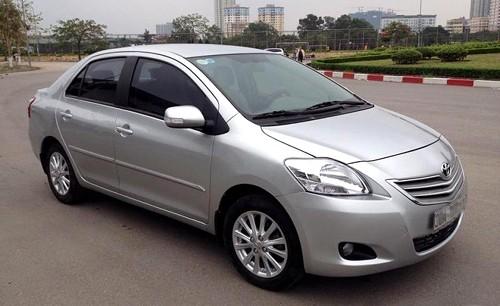 Toyota Vios là một trong những dòng xe được tìm kiếm mua lại nhiều.
