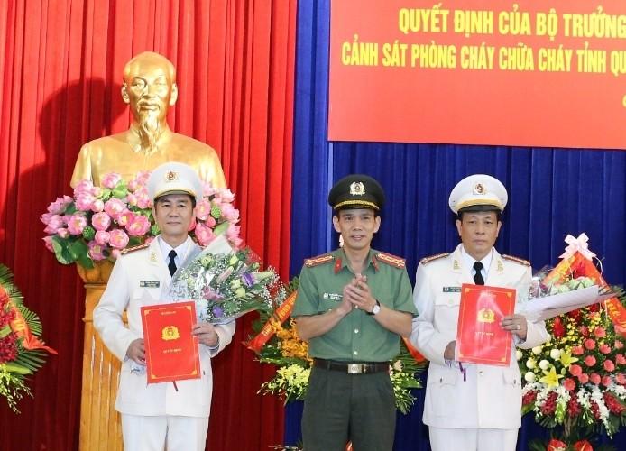 Trao quyết định bổ nhiệm lãnh đạo Công an tỉnh Quảng Ninh