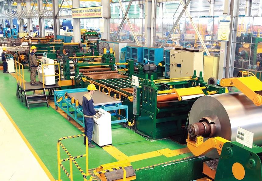 Khu vực công nghiệp và xây dựng tăng 8,85%, đóng góp 48,6% vào mức tăng trưởng GDP