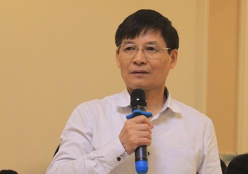 Ông Trương Văn Cẩm, đại diện Hiệp hội Dệt may Việt Nam. Ảnh:Anh Duy.