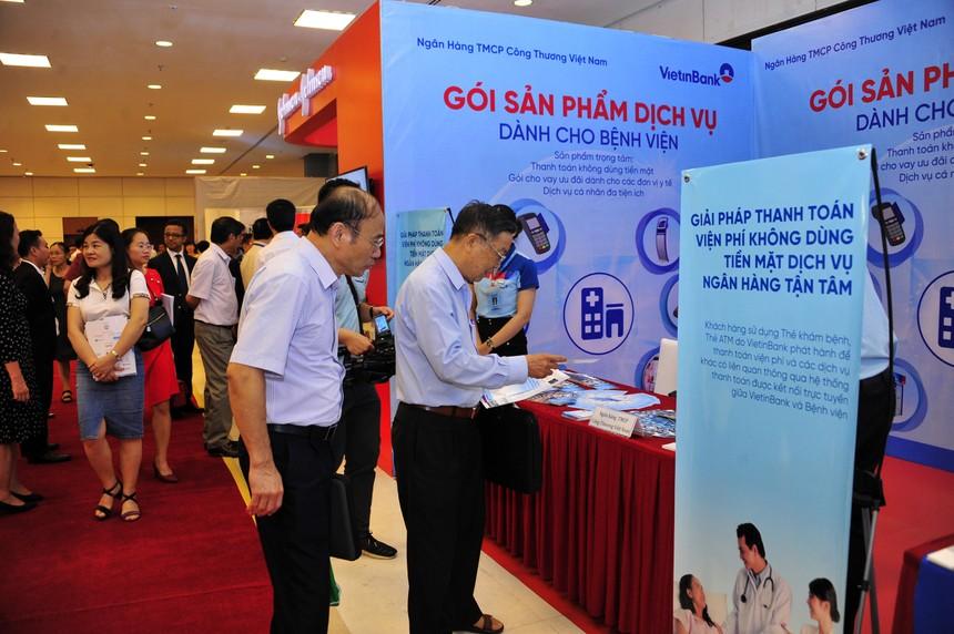 VietinBank cung cấp nhiều dịch vụ chất lượng cao cho các bệnh viện
