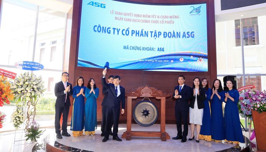 Hơn 63 triệu cổ phiếu ASG chính thức niêm yết trên HOSE