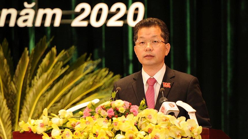Ông Nguyễn Văn Quảng, Bí thư Thành ủy Đà Nẵng nhiệm kỳ 2020 - 2025.