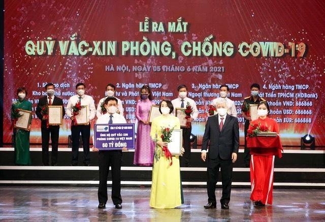Tập đoàn Masan trao tặng 60 tỷ đồng đến Quỹ vaccine phòng chống COVID-19