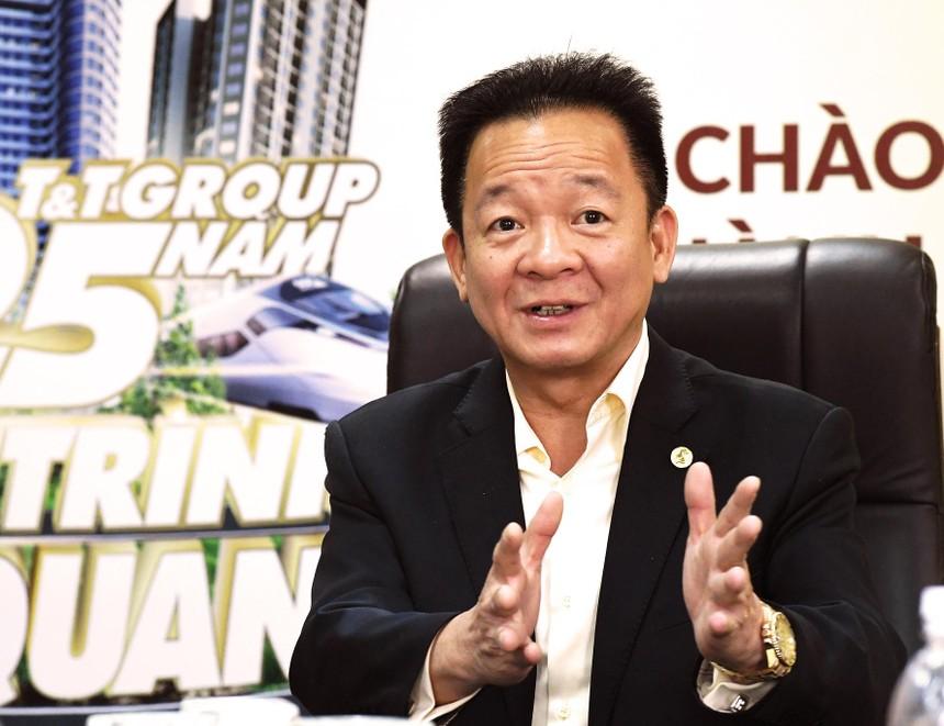Ông Đỗ Quang Hiển, Chủ tịch Tập đoàn T&T, Chủ tịch Ngân hàng SHB.