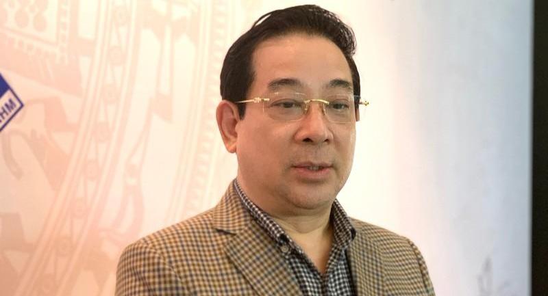 Cục trưởng Cục Quản lý khám chữa bệnh Lương Ngọc Khuê.