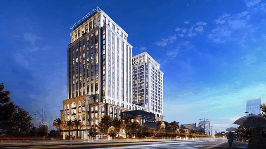 Phối cảnh dự án Chung cư Hilton Hải Phòng