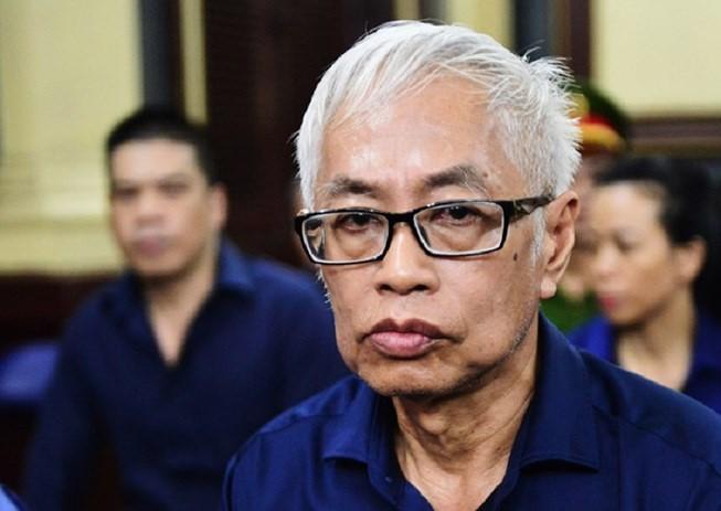 Ông Bình tại phiên tòa năm 2019. Ảnh Zing.vn