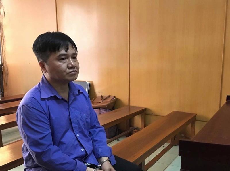 Bị cáo Thể tại phiên tòa sơ thẩm năm 2019. Ảnh: Pháp luật TP.HCM.