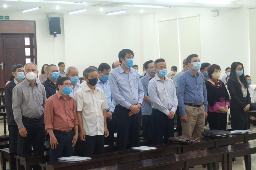 Dàn cựu lãnh đạo VNS, TISCO bị đề nghị cao nhất 11 năm tù