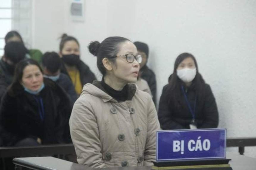 Bị cáo tại phiên tòa hồi tháng 1/2021.