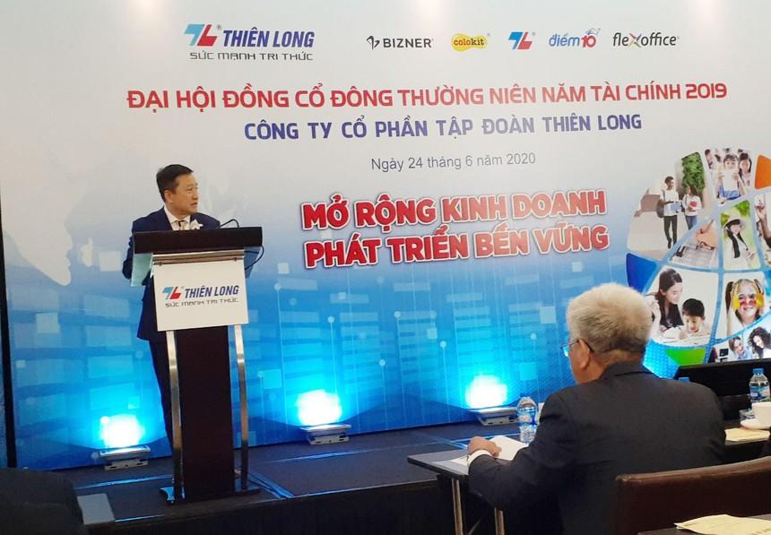 ĐHCĐ Thiên Long (TLG): Dự kiến chia cổ tức 20% và bán 1,5 triệu cổ phiếu quỹ bằng mệnh giá