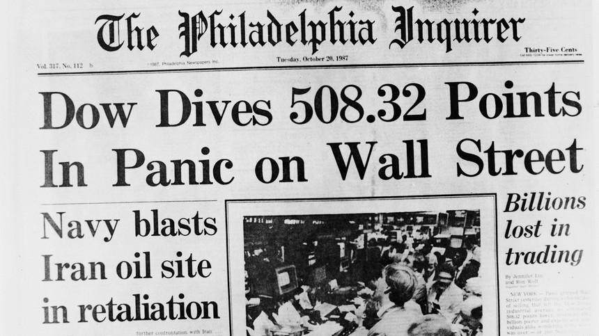 Những người không nhớ lịch sử thị trường chứng khoán sẽ ngạc nhiên khi sự sụp đổ tiếp theo xảy ra