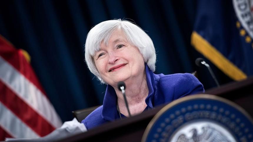 Thị trường chứng khoán lạc quan khi Janet Yellen được chọn làm Bộ trưởng tài chính