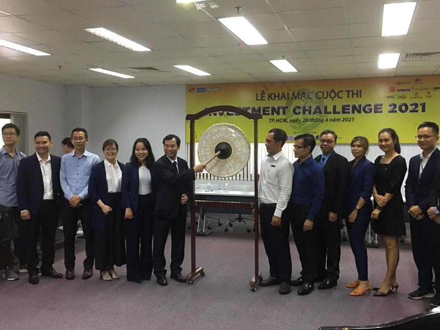 Cuộc thi Đầu tư chứng khoán INVESTMENT CHALLENGE 2021 thu hút đông đảo sinh viên nhiều trường đại học tham gia